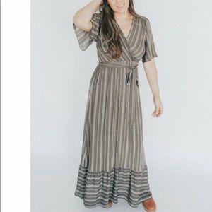 CJLA Clark Wrap Dress